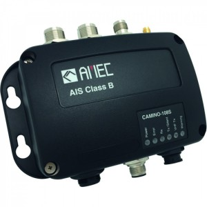 AMEC Camino-108S Class B AIS with GPS Antenna & VHF Antenna Splitter
