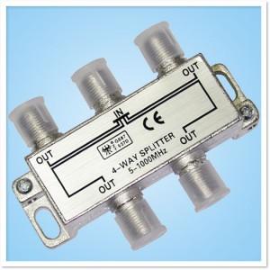 4-Way Splitter For TV Antennas
