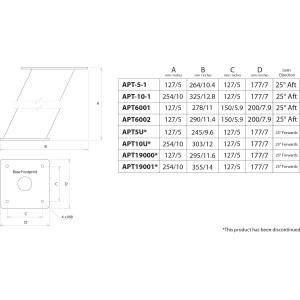 "Scanstrut APT6002 14"" Aluminium PowerTower"