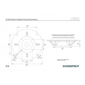 Scanstrut SC45R Satcom Antenna Mount