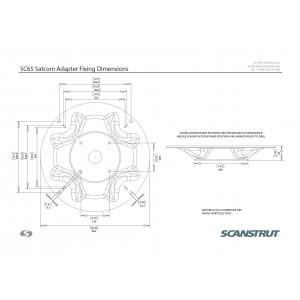 Scanstrut SC65 Satcom Antenna Mount