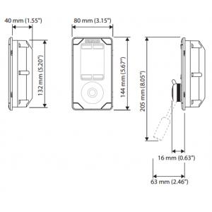 SIMRAD FU80 Steering Lever