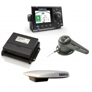 SIMRAD A2004 Autopilot with HS70 GPS Compass