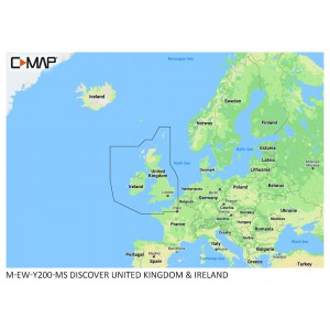 C-MAP DISCOVER UK and Ireland
