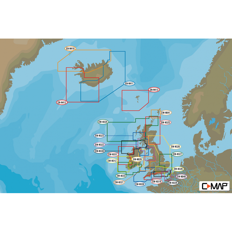 C-Map MAX-N Cartography Small Area