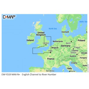 C-Map MAX-N+ English Channel to River Humber