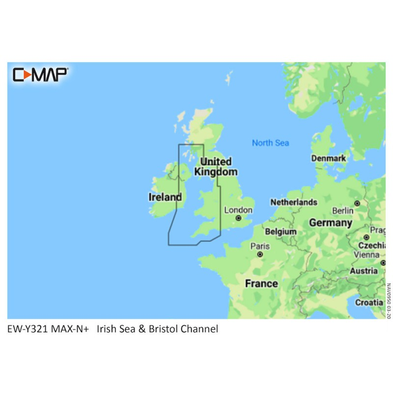 C-Map MAX-N Small Area UK