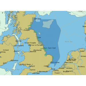 ChartWorld Charts for Sodena: East Coast of Scotland and North England