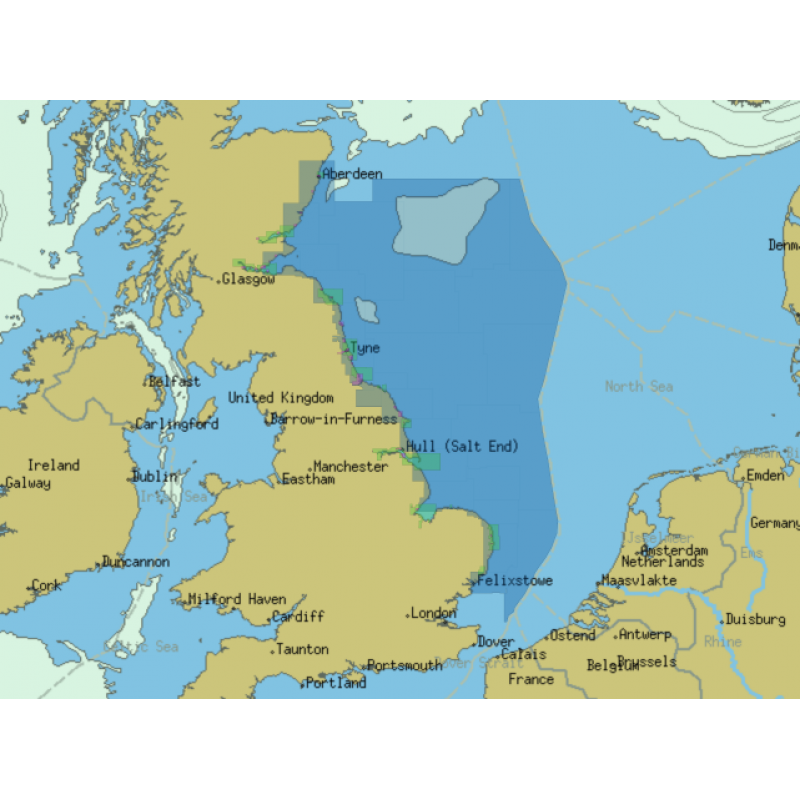ChartWorld for Olex: East Coast of Scotland and North England