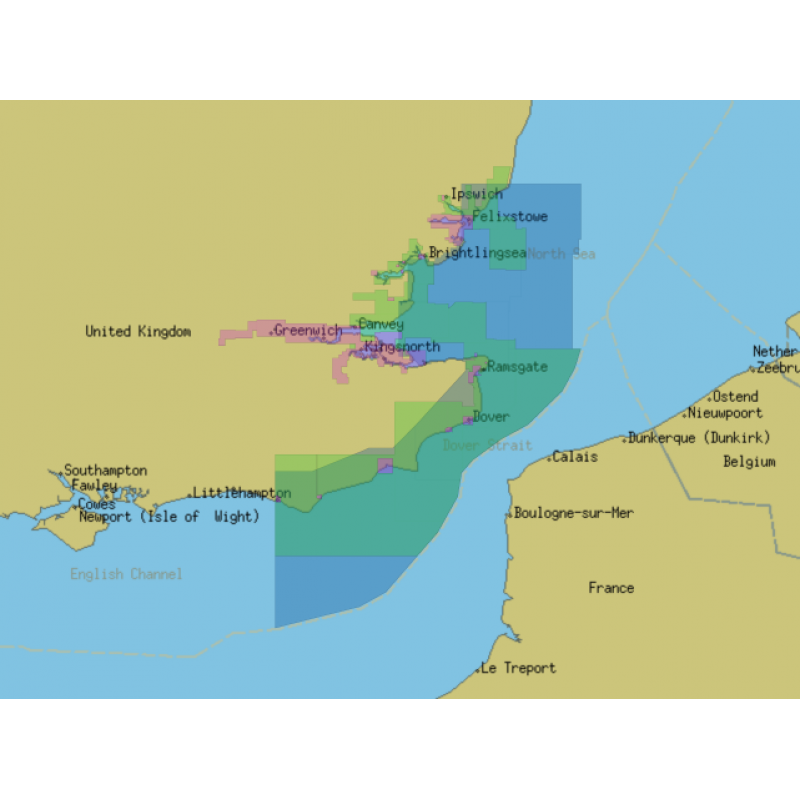 ChartWorld for Olex: South East Coast of England