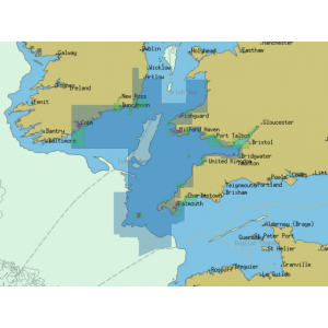 ChartWorld Charts for Sodena: Celtic Sea Coast of England to Irish Sea