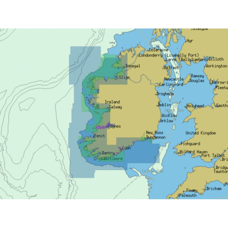 ChartWorld for Olex: South and West Coast of Ireland