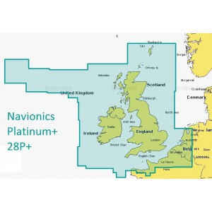 Navionics Platinum+ Plus XL3 UK and Ireland