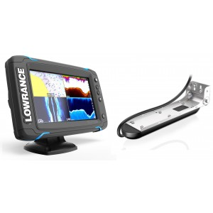 Lowrance Elite-7 Ti with Mid/High/TotalScan Bundle