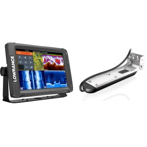 Lowrance Elite-12 Ti with Mid/High/TotalScan Bundle