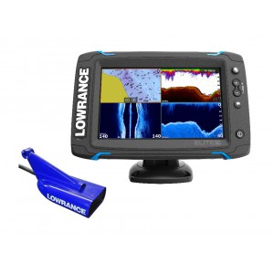 Lowrance Elite-7 Ti with Med/High/DownScan Bundle