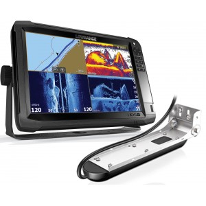 Lowrance HDS-12 Carbon with Mid/High/TotalScan Bundle