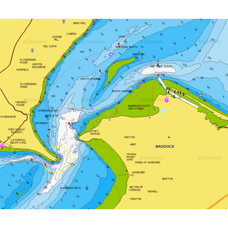Navionics+ Small Chart UK