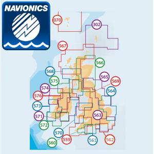 Navionics+ Local Chart for UK