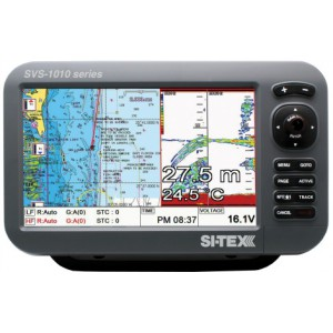 "Si-Tex SVS-1010CF 10.1"" Combination Chartplotter / Fishfinder"