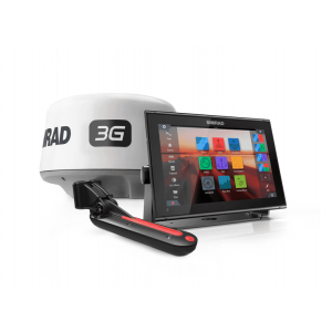 SIMRAD GO12 XSE with 3G Radar and TotalScan Bundle