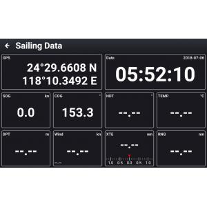 "Xinuo XN60 10.1"" Multi-Touch AIS Chartplotter"