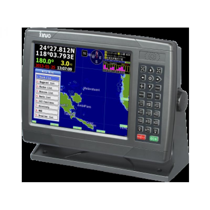 """Xinuo XF-1069 10.4"""" GPS Chartplotter"""