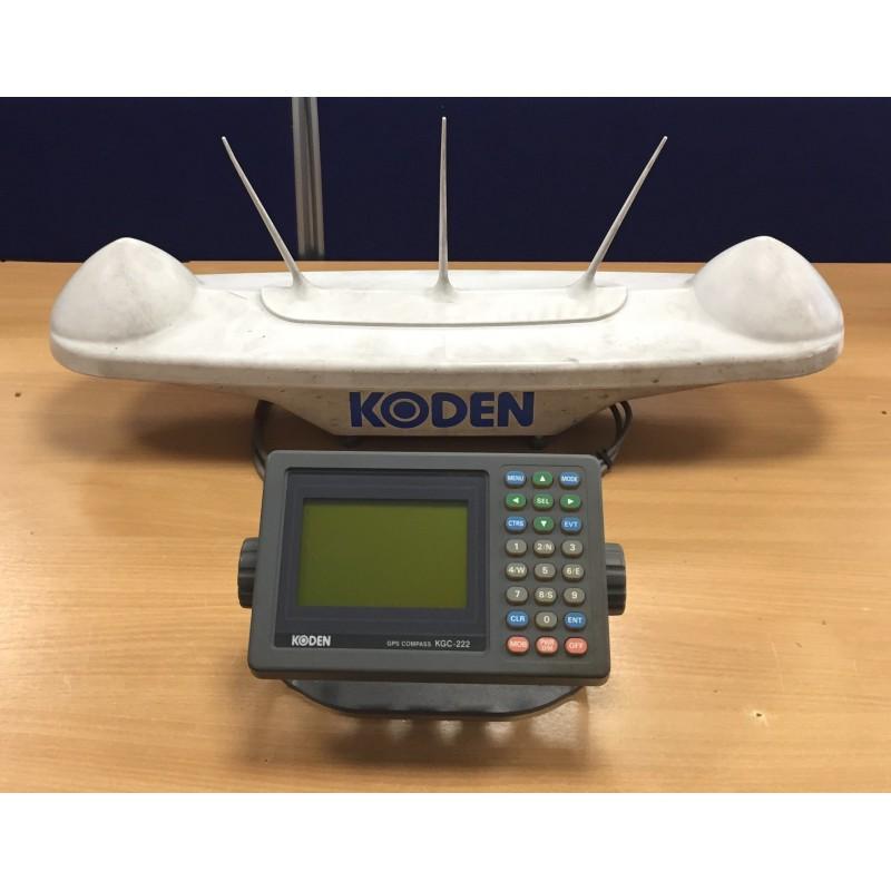 Koden KGC-222 GPS Compass & Display