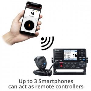 Icom IC-M510 Marine DSC VHF with Smartphone Control