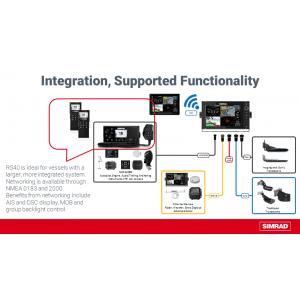 SIMRAD RS40 DSC VHF with Class B AIS Receiver
