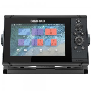 SIMRAD Cruise-7 with 83/200kHz Skimmer Transducer