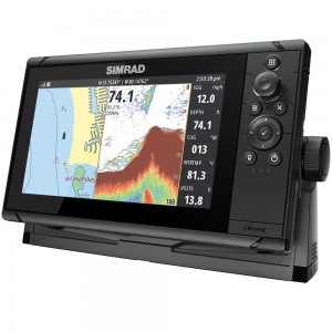 SIMRAD Cruise-9 with 83/200kHz Skimmer Transducer