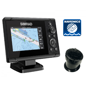 SIMRAD Cruise-5 with P79 In-Hull Transducer and Navionics+ Chart