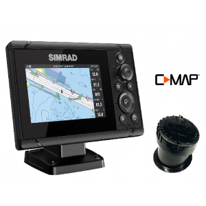 SIMRAD Cruise-5 with P79 In-Hull Transducer and C-MAP Chart