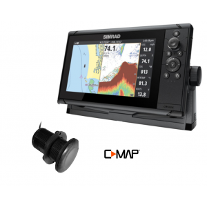 SIMRAD Cruise-7 with P319 Through-Hull Transducer and C-MAP Chart