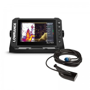 Lowrance Elite FS 7 with HDI M/H 455/800 Transducer