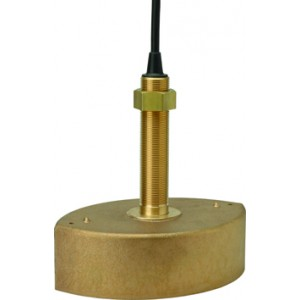 Hondex TD-67T 1.8kW 50/200kHz Bronze Through Hull Transducer