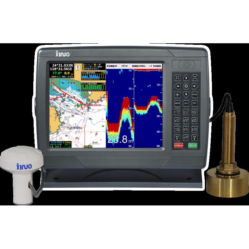 "Xinuo XF-1069GF 10.4"" Combination Chartplotter/Fishfinder"