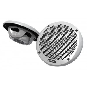 """Fusion EL602 Slimline 150W 6"""" Marine 2-Way Loudspeakers (Pair)"""