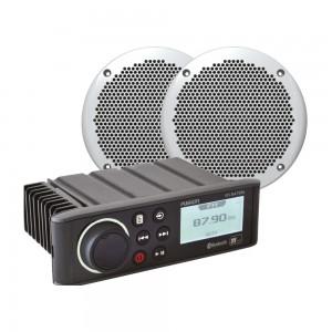 """Fusion RA70N N2K Marine Stereo & 6"""" Speaker Bundle"""