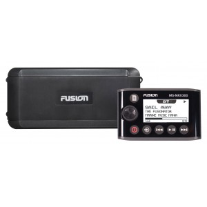 Fusion BB300R Black Box Radio with NRX300 Remote