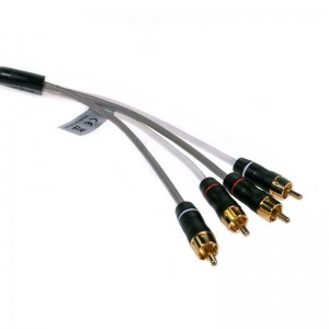 Fusion 2-Zone, 4-Channel 7.6m Audio Interconnect Cable