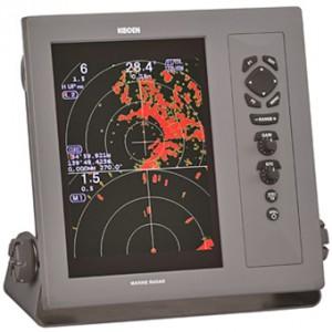 "Koden MDC-2000A Series Radar with 4kW / 32NM 25"" Radome"