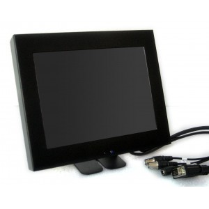 "8"" CCTV Monitor With Glass Front"