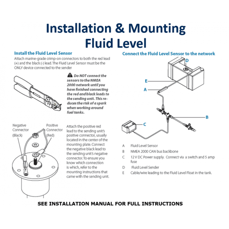 Navico Fluid Level Sensor