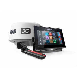 SIMRAD GO7 XSR with 3G Radar and TotalScan Bundle