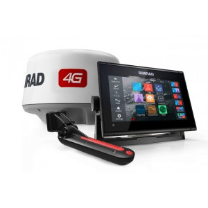 SIMRAD GO9 XSE with 4G Radar and TotalScan Bundle