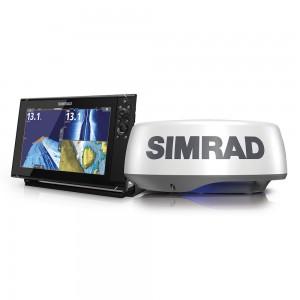 SIMRAD NSS12 Evo3 with HALO20+ Radar Bundle