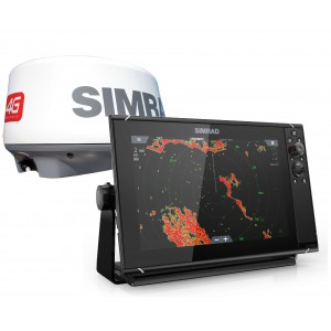 SIMRAD NSS12 Evo3 with 4G Radar Bundle