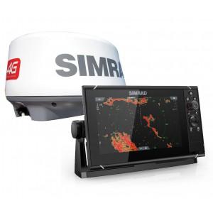 SIMRAD NSS9 Evo3 with 4G Radar Bundle
